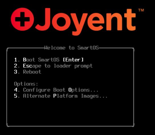 Joyent Loader Screen
